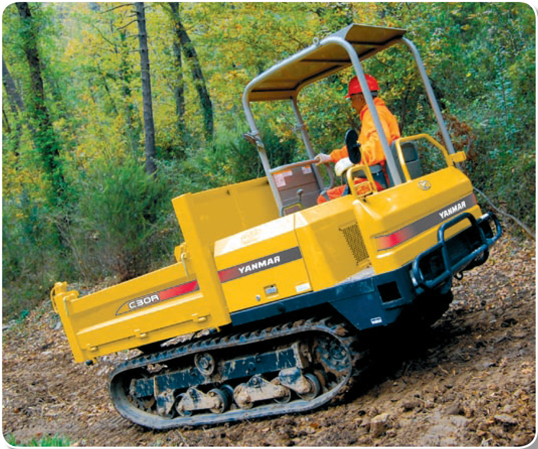 Yanmar 2500 Parts : Yanmar c r tracked carriers coplant