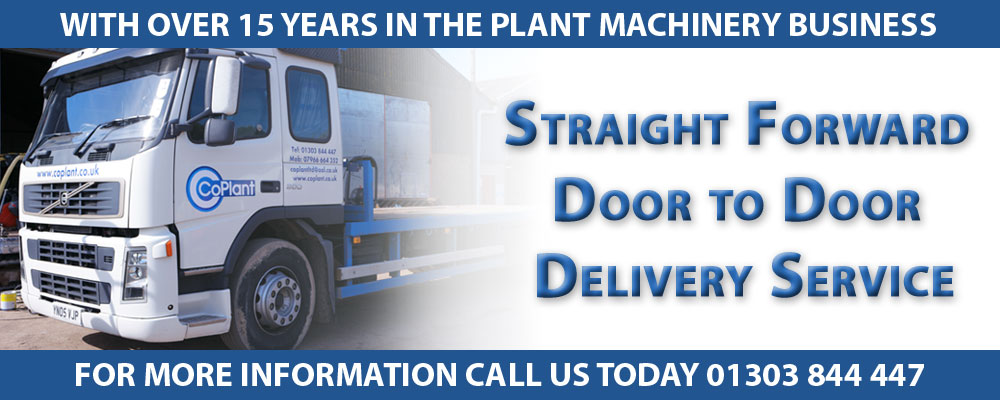 delivery and transport - used plant machinery
