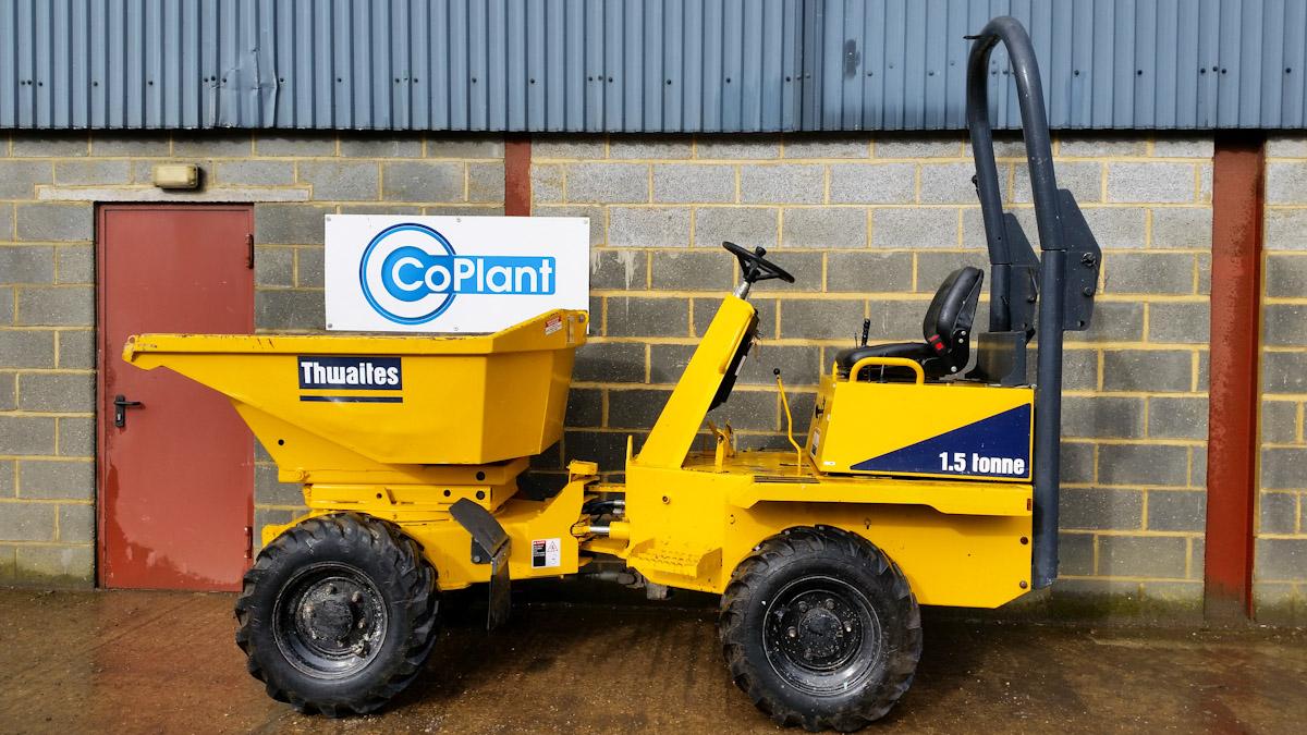 Terex / Benford 1.5 ton High Tip Swivel Dumper