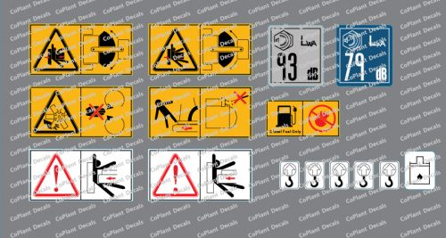 Kubota Safety Decals