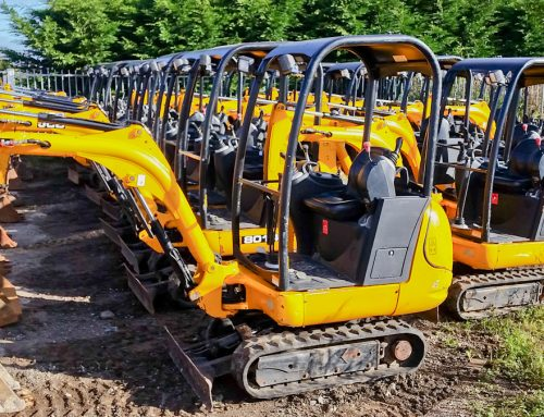 UK construction machinery exports continue to grow.