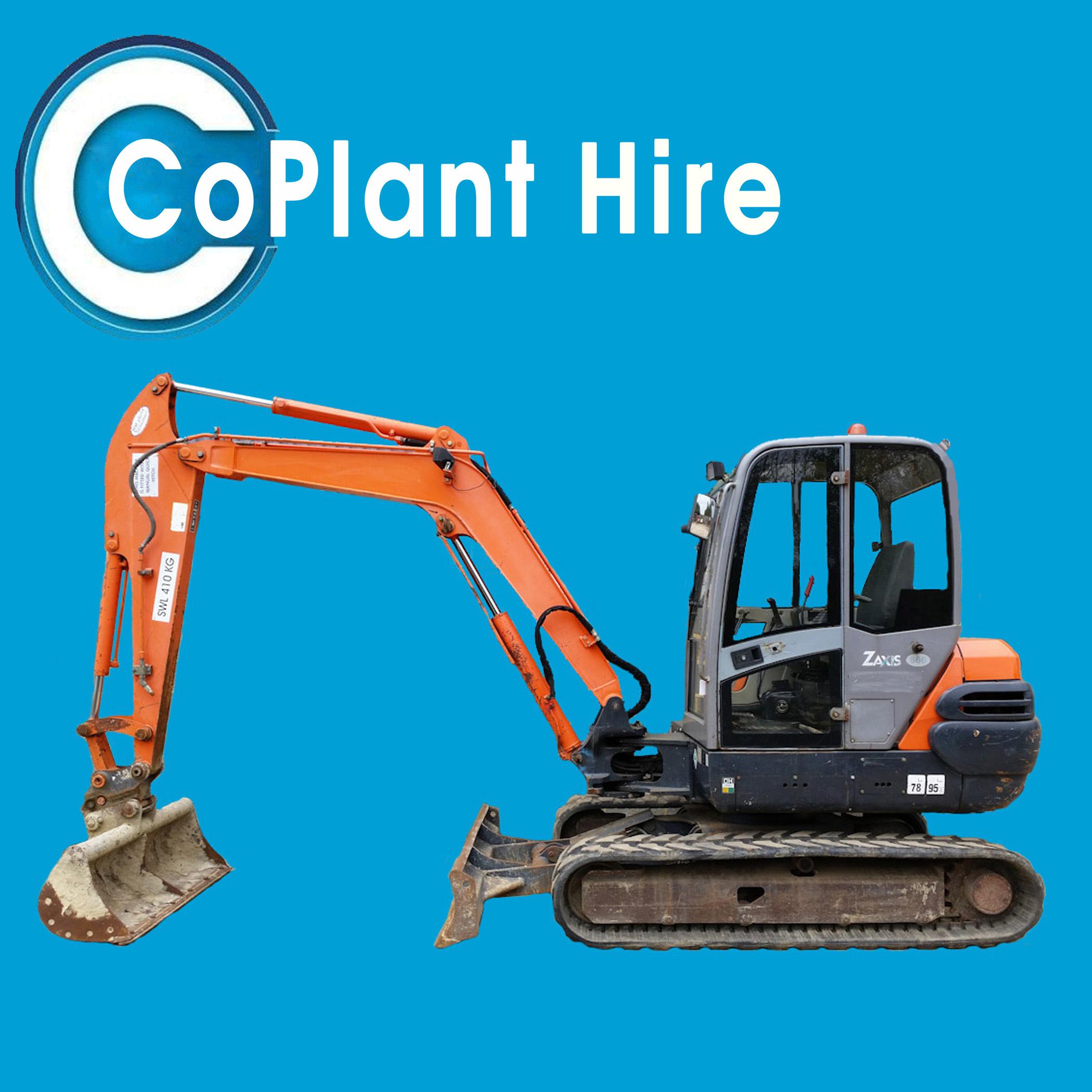 5 ton digger for hire kent