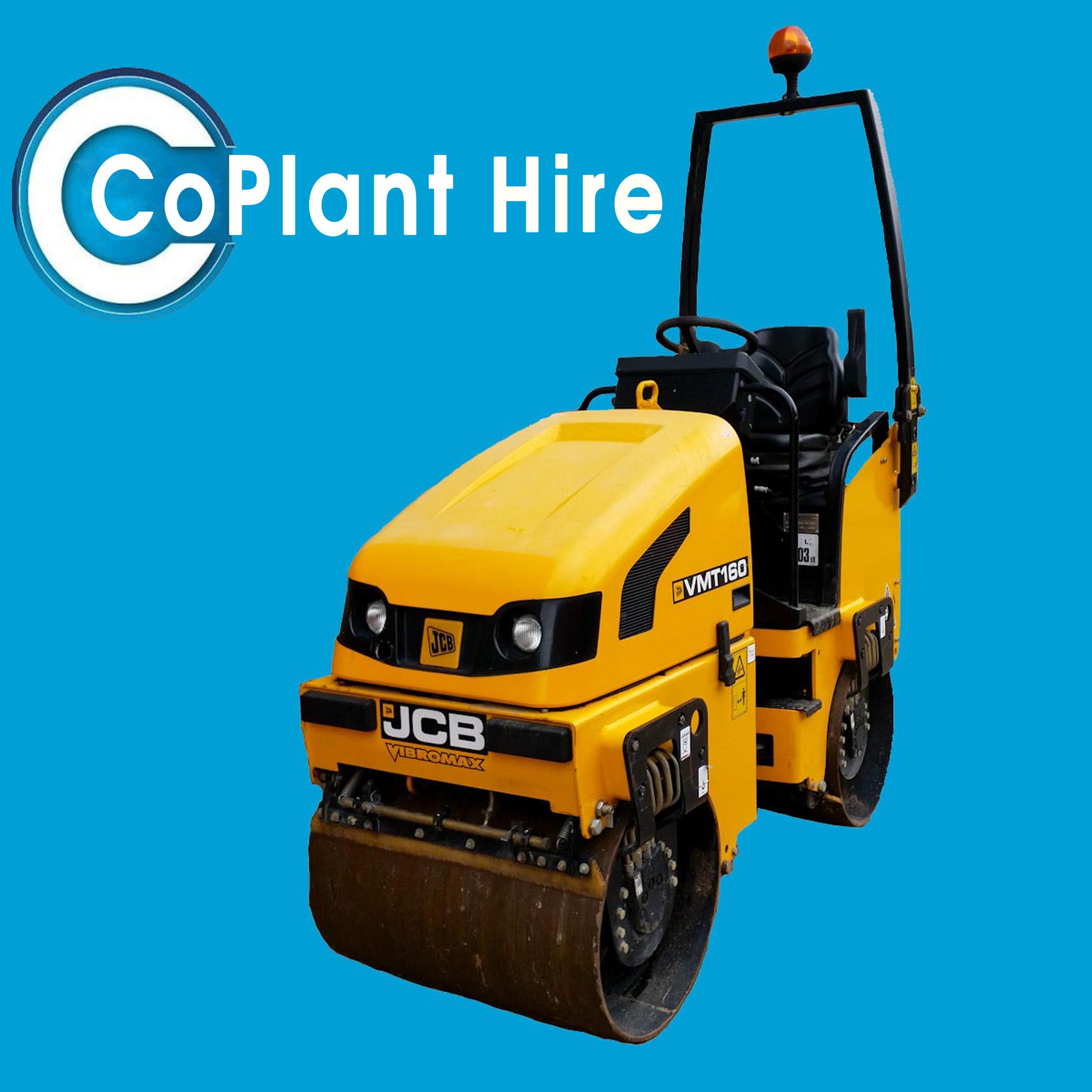 80cm Twin Drum Roller Hire