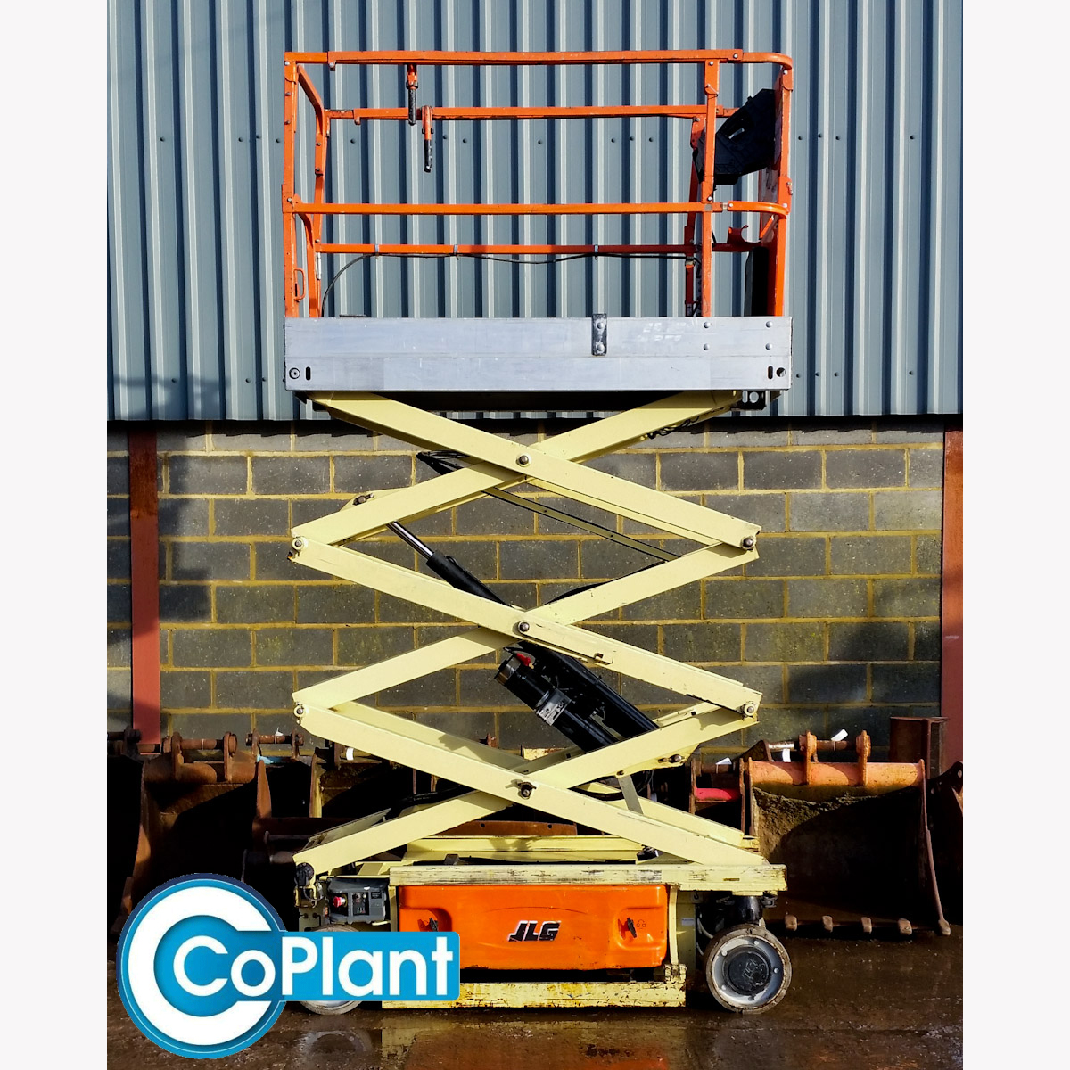 JLG 1930ES from CoPlant Ltd - Extended Side
