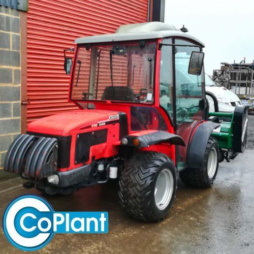 Antonio Carraro 8400 TTR Tractor and Mower from CoPlant