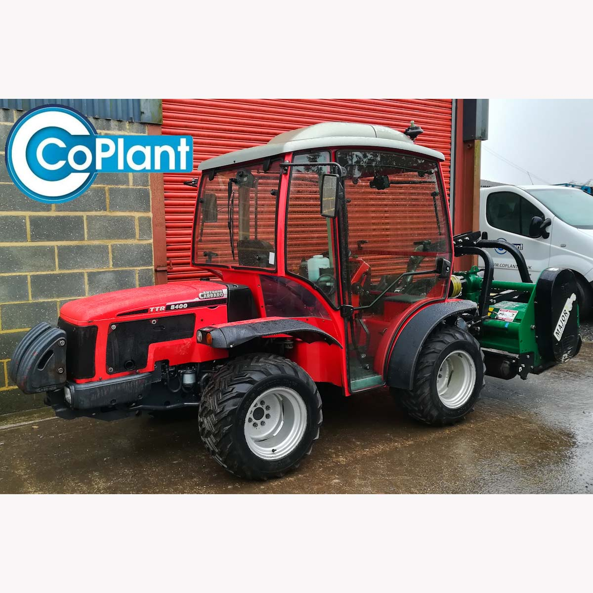 Antonio Carraro 8400 TTR Tractor and Mower from CoPlant