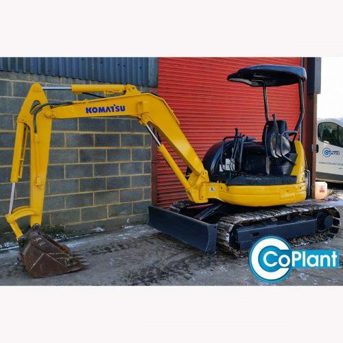 Komatsu PC30MR available from CoPlant Ltd