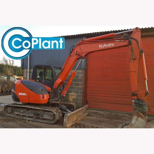 Kubota KX080-3 available from CoPlant Ltd