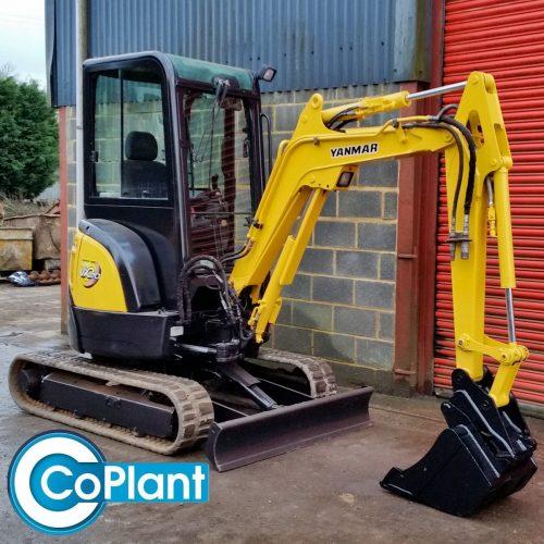 Used Yanmar Vio20 Excavator from CoPlant Ltd