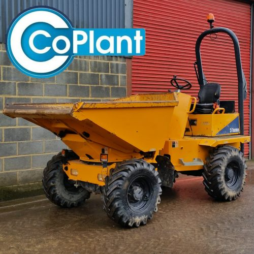 3 Ton Thwaites Dumper available from CoPlant Ltd