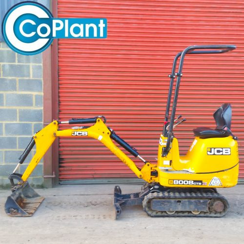 JCB 8008 AVAILABLE FROM COPLANT