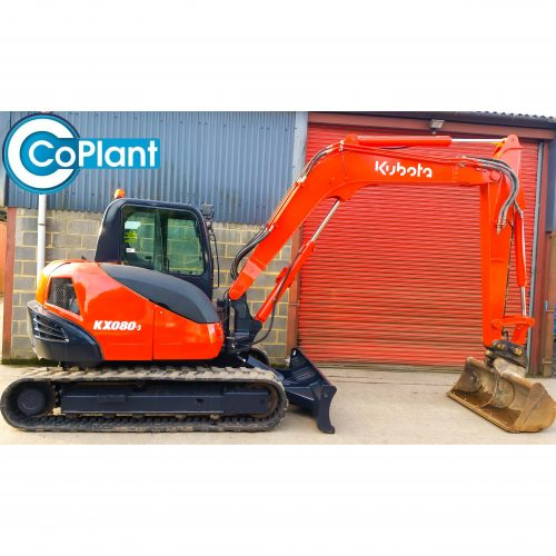 KUBOTA KX080-3 SIDE 2 AVAILABLE FROM COPLANT