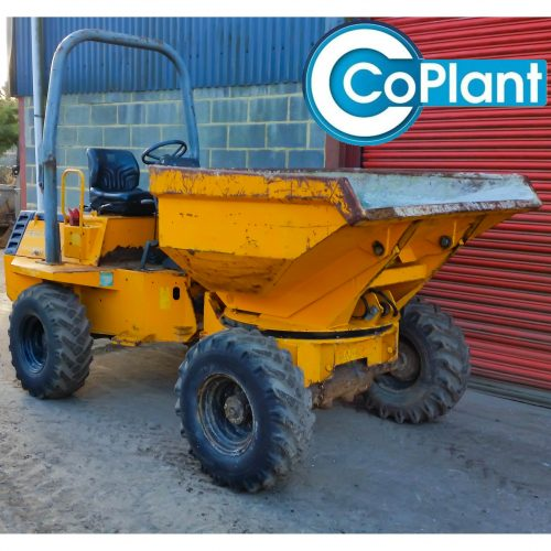TEREX 3 TON DUMPER AVAILABLE FROM COPLANT