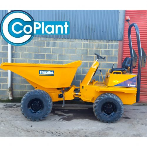Thwaites Mach573 3 Ton Side Available From CoPlant