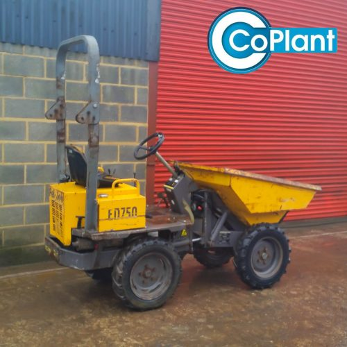 2000 Volvo ED750 1 Ton Dumper available from coplant