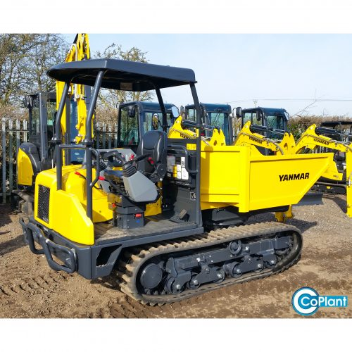 Brand New Yanmar C30R Tracked Dumper available from coplant