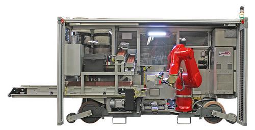 Brick-Laying Robot Reaches the UK